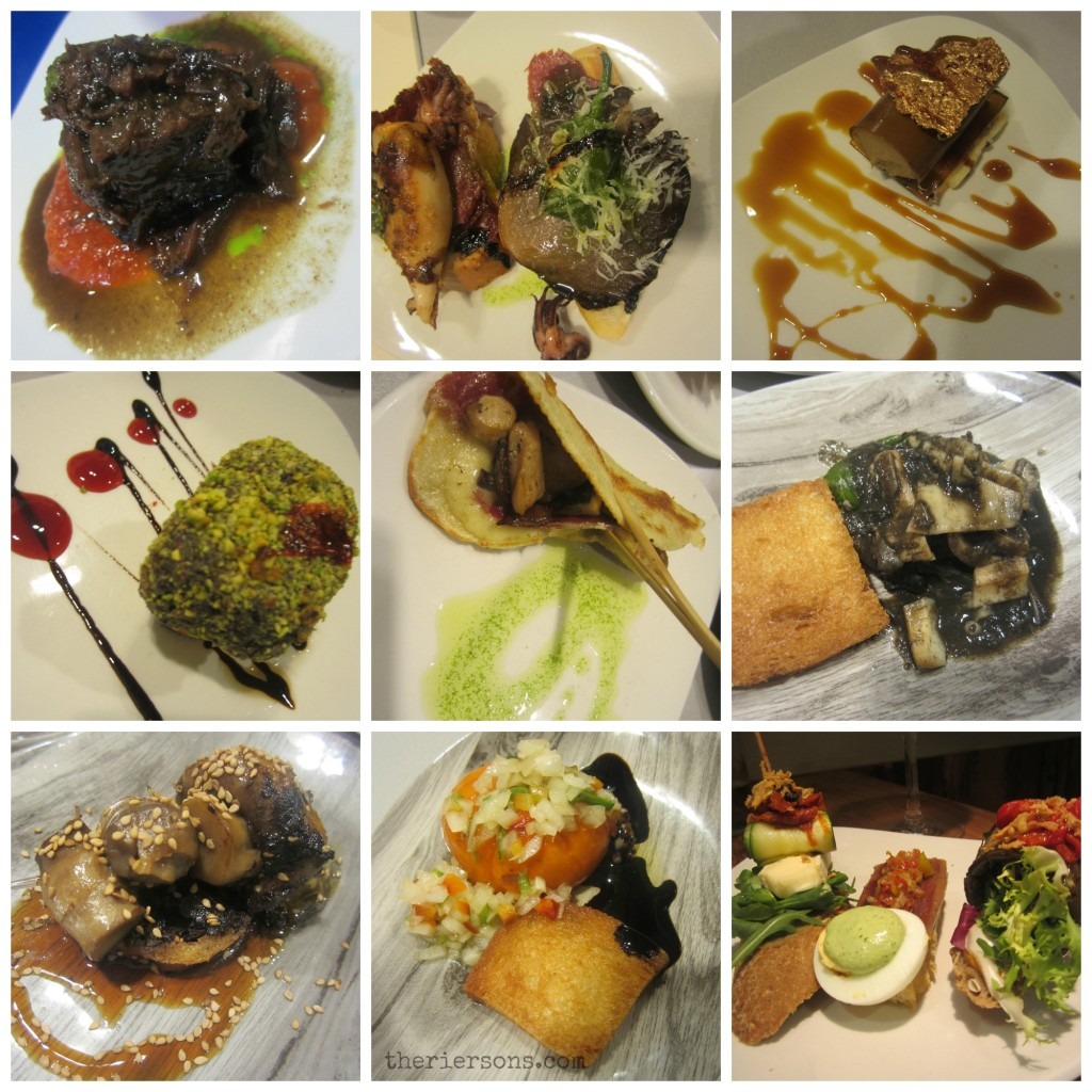 San Sebastian Food Collage