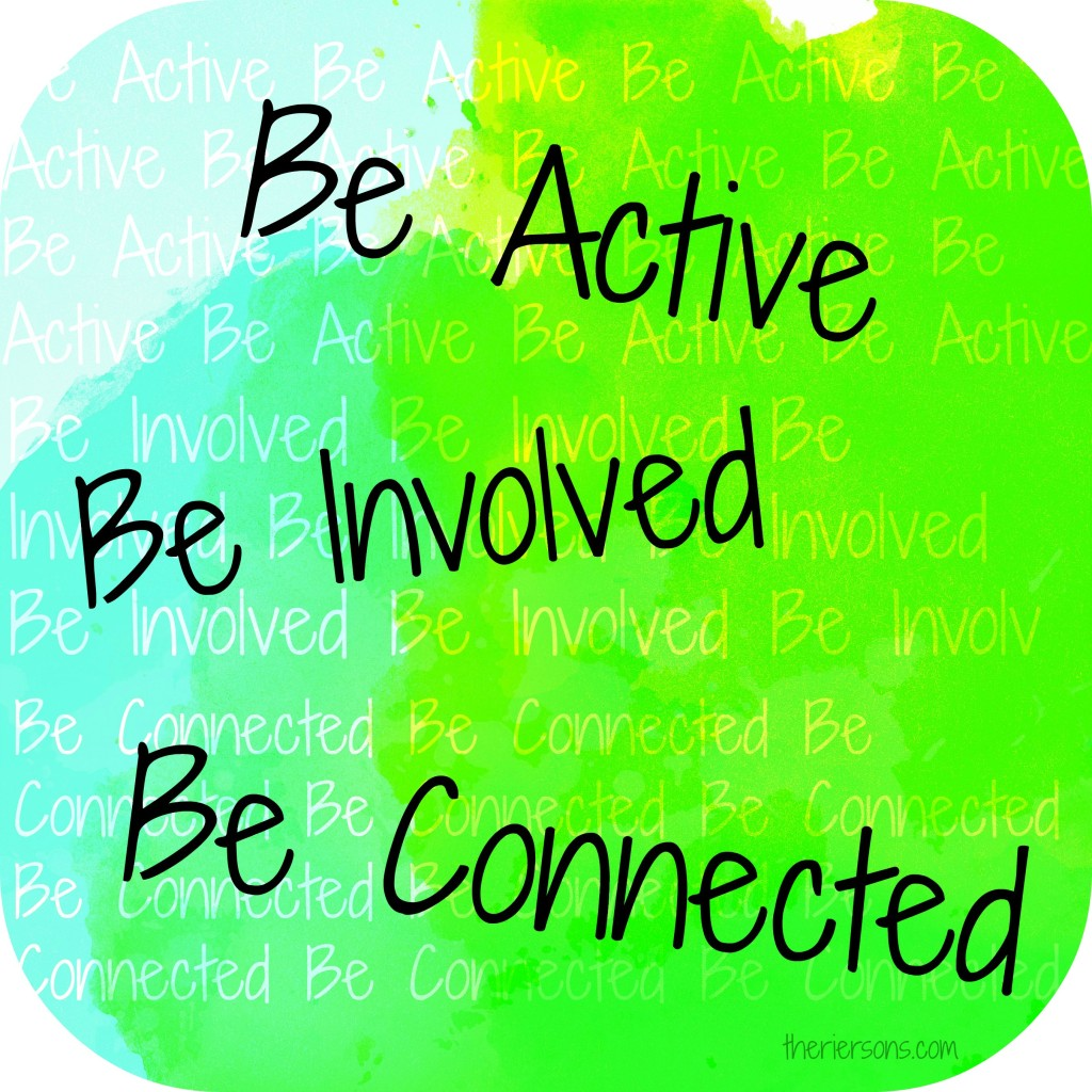 BeActiveBeInvolvedBeConnected