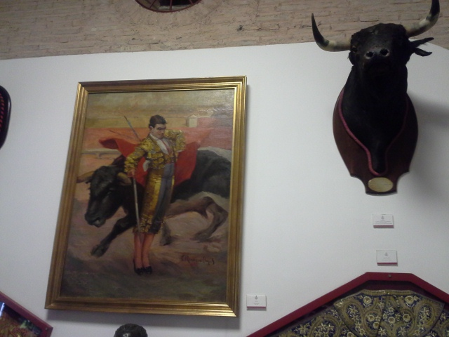 Tour of the bull musuem in Seville Spain