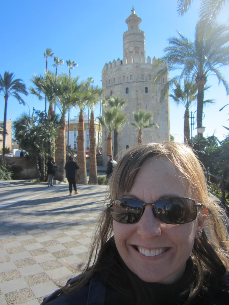 The Golden Tower in Seville Spain